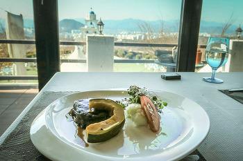 [춘천맛집] 맛도 풍경도 함께하는 산토리니 레스토랑
