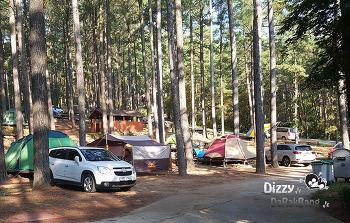 오토캠핑장 추천 즐기자 백운산 자연 휴양림 캠핑