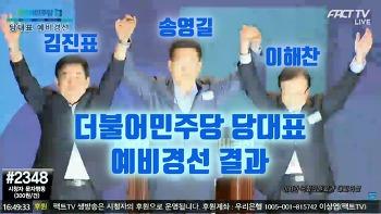 2018 더불어민주당 당대표 예비경선 결과