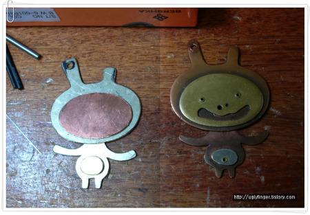 재미있는 토끼 열쇠걸이 만들기-못생긴 손가락의 세공작업실