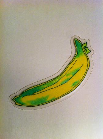 바나나책갈피/뱀피바나나