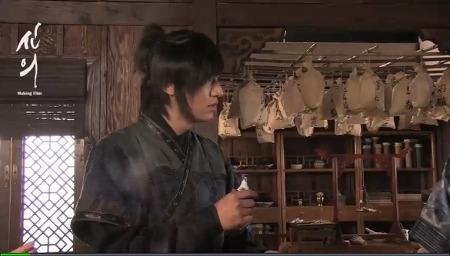 [영상] '신의'16회 메이킹필름 - 장빈 어의의 독, 마시세요?