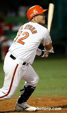 이도형의 끝내기 2런 홈런 ㅠ