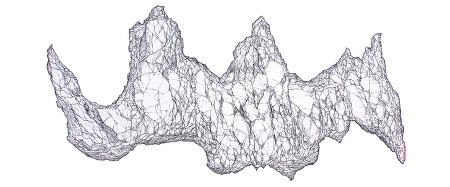 빙산- 우주적 나르시스.