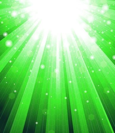 자연 일러스트 이미지 다운로드/그린 초록