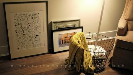 [my flat, petit four] replica of James Gulliver Hancock's print