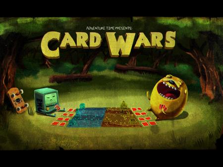 게임] 어드벤쳐 타임 카드 워즈( Card Wars )가 출시 됐었다니..