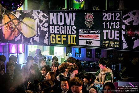 121113 ICAC GE Festival Now Begins Gef III @ 구월동 엔츠 Ants Club