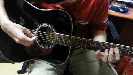 와.... 처음으로 쳐본 기타 곡ㅋㅋㅋㅋ