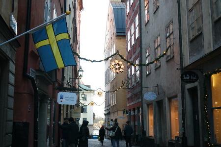 [스웨덴]스톡홀름 150102 - 옛 스톡홀름의 모습을 간직한 동네, 감라스탄 (II)