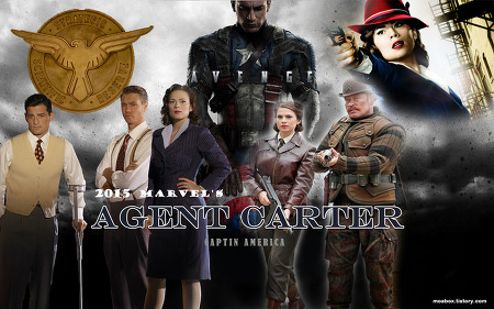 에이전트 카터 Marver's Agent Carter | 미드 | 액션 / 어드밴쳐 / 공상과학