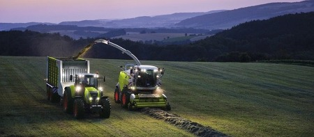 [CLAAS] Automatic system