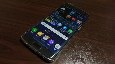 링케 에어(Ringke Air) Smoke Black Galaxy S7 Edge