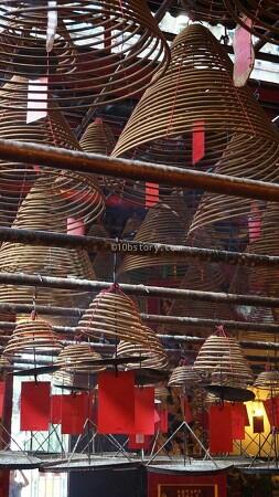 [홍콩] 홍콩다움을 물씬 느낄 수 있는 만모사원(Manmo temple)