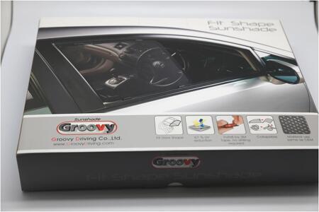아우디 A3 A4 Q5전용 프리미엄 햇빛가리개 Groovy 그루비 썬쉐이드!