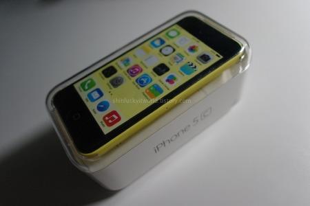 Apple :: iPhone5C 개봉기 및 사용기. 그리고 성능 측정결과