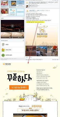 [활용사례-온라인모금] 아름다운재단 웹/모바일웹 연동