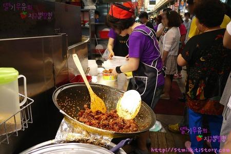 [인천]신포시장에 가면 닭강정도 먹고 공갈빵도 먹고 야채치킨도 먹고 ♪