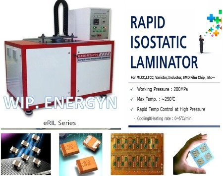 Laminator, WIP (Warm Isostatic Press), 라미네이터