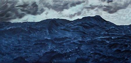 sea 133x66cm  oil on canvas 2012