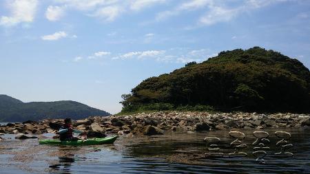 경남 거제도 여행 - 구조라해수욕장 윤돌섬 카약킹 체험