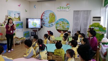 싱그러운 봄비를 닮은 아이들이 다녀간 4월 도청기후학교