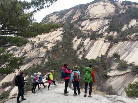 4050 수도권산악회 삼각산 산행