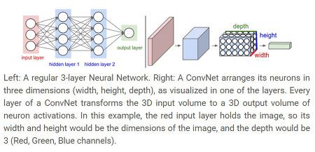Convolutional Neural Networks (CNNs / ConvNets)