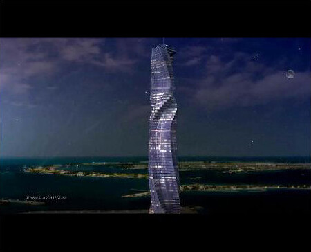 Rotating skyscrapers planned for Moscow and New York - video