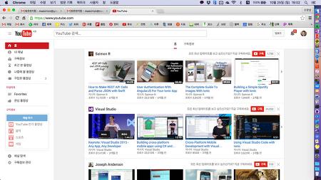 유튜브에 좋은 자료들 참 많네요..