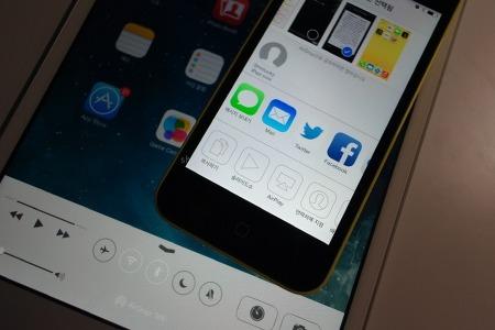Apple :: 아이폰5C로 사용해보는 에어드랍(AirDrop) 사용기. 무선파일전송 테스트