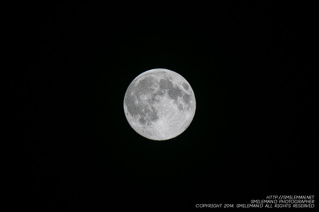 140810 22:22:26 2014 SuperMoon 슈퍼문