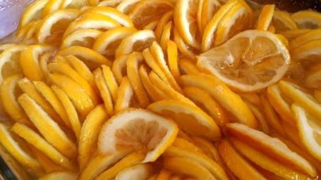 레몬청 만들기