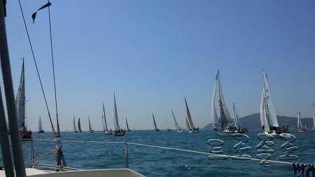 거제세일링클럽(Geo-je Sailing Club) 2015년 부산 슈퍼컵 국제요트대회 참가후기 및  거제도 지세포 ~ 해운대 항해후기