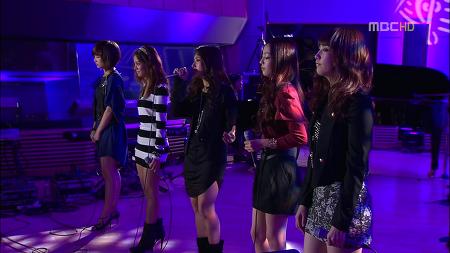 091021 빙글빙글 _ 길 (MBC 음악여행 라라라 Ep.43) / KARA