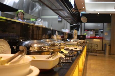 유기농 뷔페 ㅣ 유기농 매장 학사농장 ㅣ 숨빵 ㅣ 원산지표기 대놓고 제일 앞에 두는 식당. 광주 수영지구에 있는 마플