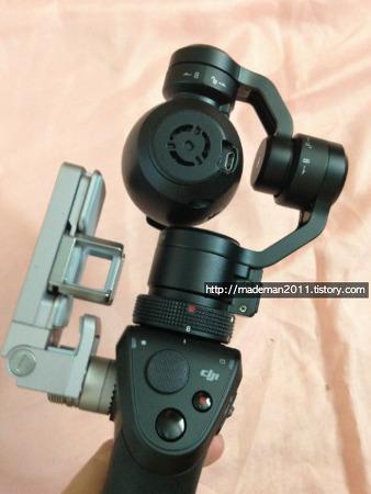 [osmo] DJI 원핸드 짐벌 카메라