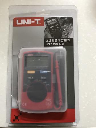 포켓 테스터기 UNI-T UT-120C 카드 테스터기