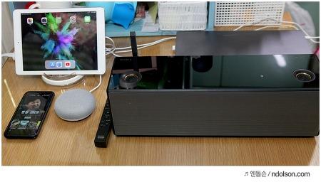 소니 SRS-X99 블루투스 스피커, 구글홈 연동 구글 크롬캐스트
