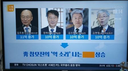 청와대 전현직 참모들 부동산 대박