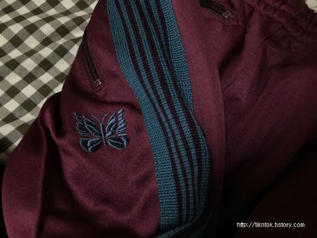 니들스/니들즈(Needels) 트랙팬츠 네로우핏 마룬색상 구매후기!
