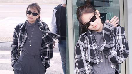 200213 인천공항 출국 블랙핑크 제니 직캠 by 스피넬