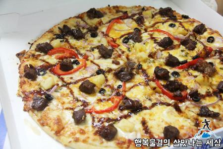 빅마켓 일산점 직화스테이크 피자 가격, 맛평