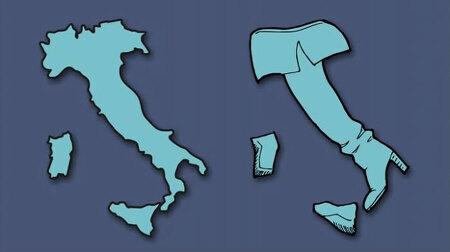 유럽 여러 나라 지도는 무엇을 닮았을까