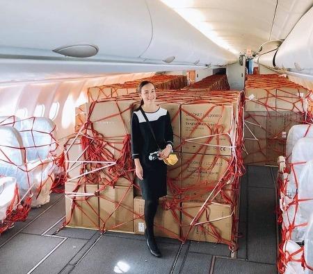 여객 대신에 화물을 싣고 나르는 에어버스 A330