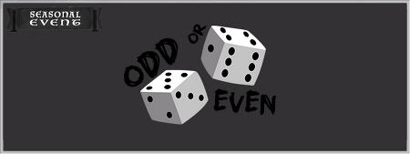 Seasonal Event - Odd or Even