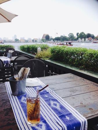 [방콕 맛집] 짜오프라야 강변의 레스토랑, ESS deck (Eat sight story)
