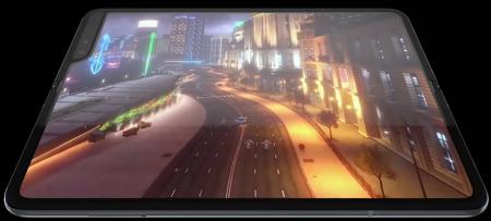 삼성 갤럭시 폴드(Samsung Galaxy Fold) 실기 사용 영상.