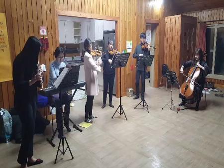 음악캠프 선생님들 연주_하얀거탑ost
