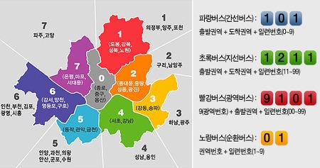 서울시 버스노선 구별법과 심야버스